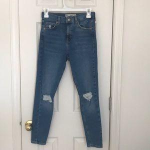 Top shop Jamie jeans size 28
